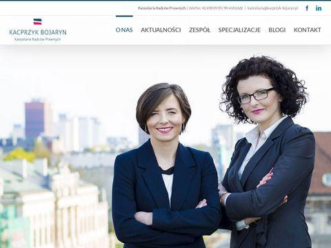 Kacprzyk-bojaryn.pl zwrot opłaty likwidacyjnej