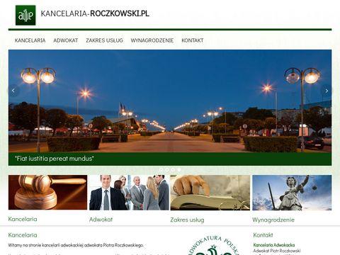 Adwokat rozwody Gdynia kancelaria-roczkowski.pl