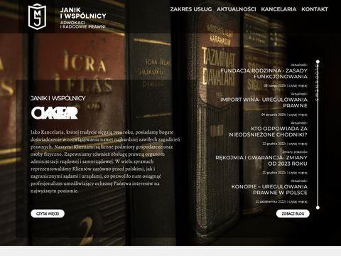 Kancelaria-janik.com adwokaci radcowie prawni