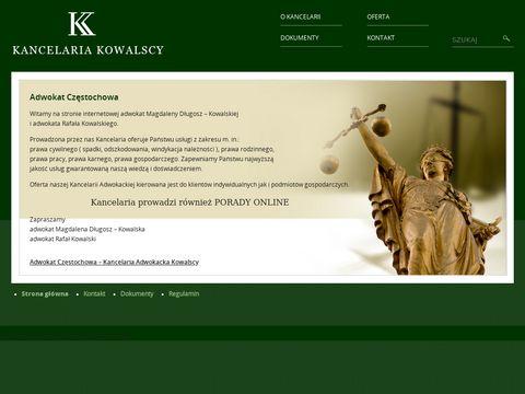 Kancelaria-kowalscy.pl adwokat Częstochowa
