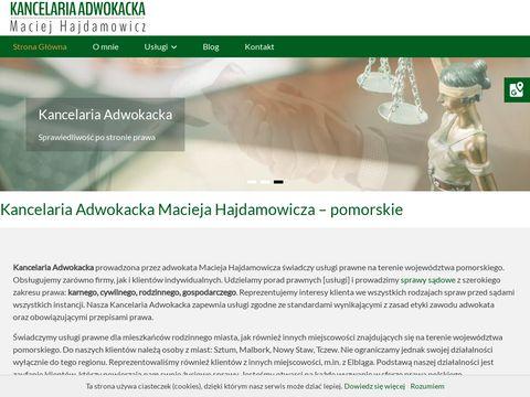 Kancelaria-hajdamowicz.pl adwokat pomorskie