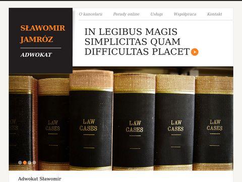 Sławomir Jamróz kancelaria prawna Rzeszów