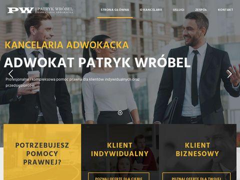 Kancelariawrobel.pl adwokat