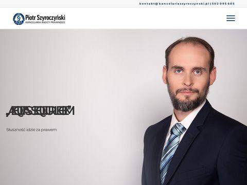 Kancelariaszyroczynski.pl obsługa prawna szpitali