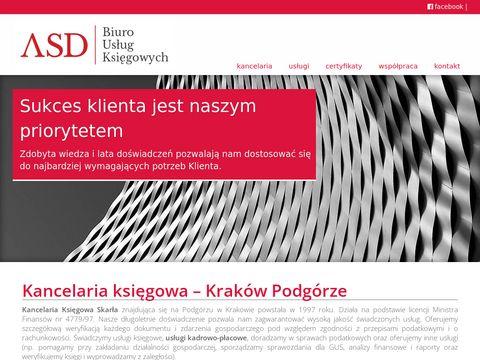 Kancelariaskarla.pl biuro rachunkowe Kraków
