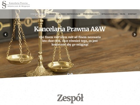 Kancelariaprawna-aw.pl dobry prawnik Warszawa