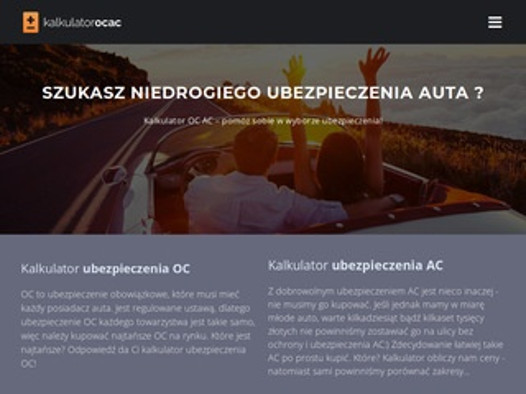 Kalkulator-ocac.pl