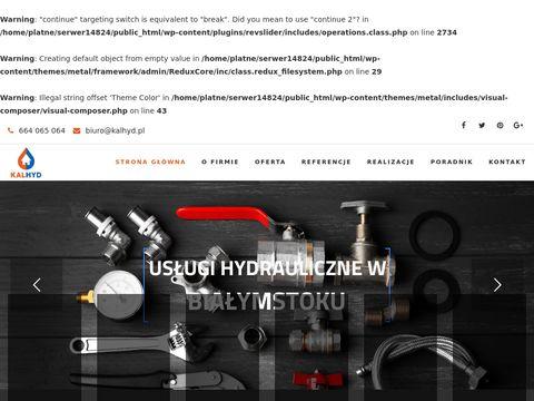 Kalhyd.pl hydraulik Białystok
