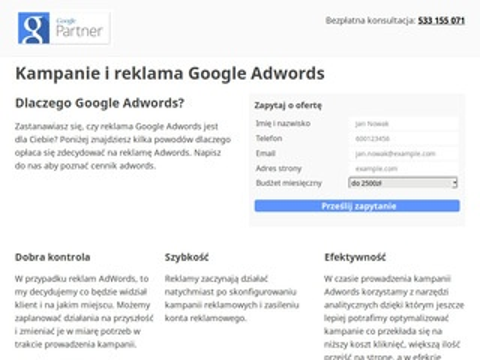 Reklama Adwords - z Krakowa kampanie-adwords.pl