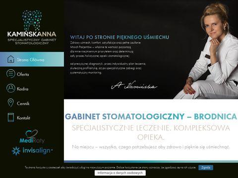 Kaminska.pro - stomatolog Brodnica