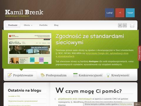 Tworzenie stron www - Poznań