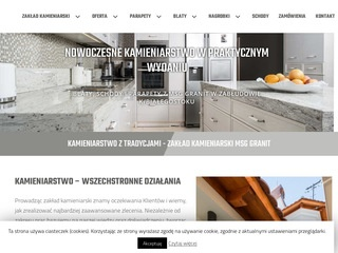 Kamieniarzbialystok.pl parapety