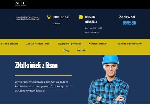 Kamieniarzrzeszow.pl nagrobki