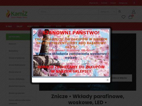 Kamiz24.pl znicze wkłady online