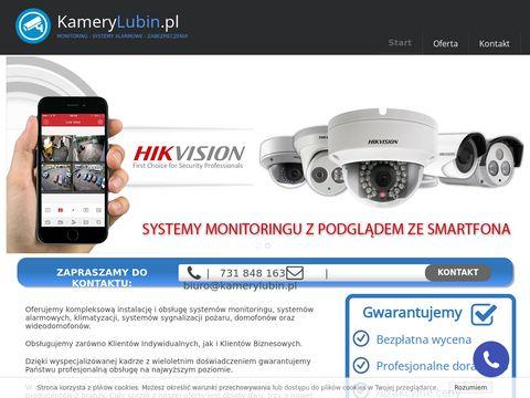 Kamerylubin.pl alarmy