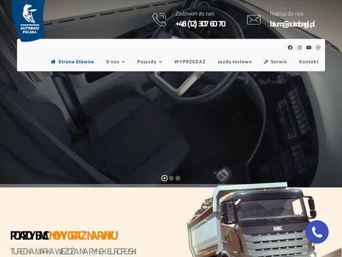 Kamaz Trucks Polska ciężarówki