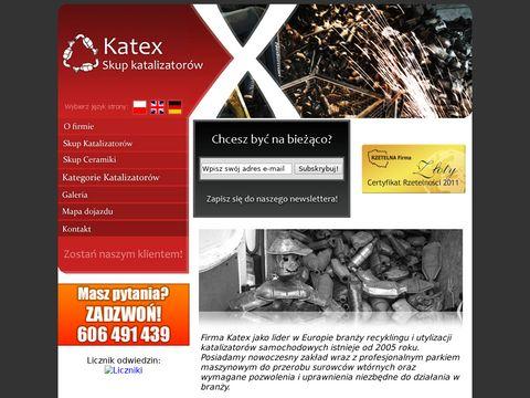 Katex.info skup katalizatorów