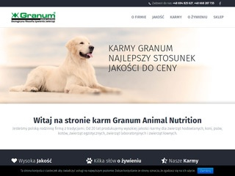 Granum ekologiczna filozofia żywienia zwierząt