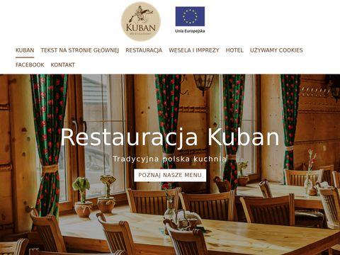 Karczmakuban.pl sala weselna Śląsk