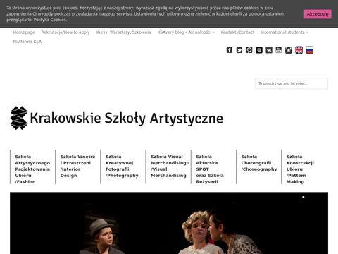 Ksa.edu.pl projektowanie mody