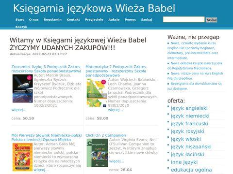 Internetowa księgarnia językowa
