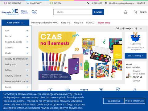 Ksiegarnia-edukacyjna.pl wydawnictw MAC Edukacja