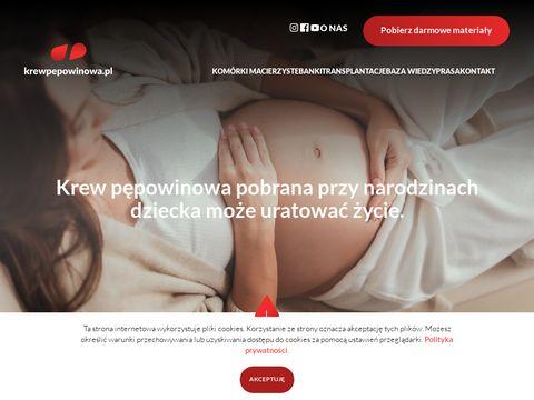 Krewpępowinowa.pl - komórki macierzyste