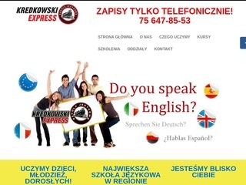Kredkowski Express kurs języka niemieckiego