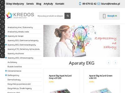 Kredos.pl rejestratory EKG
