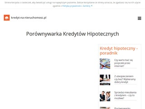 Kredyt-na-nieruchomosc.pl mieszkanie
