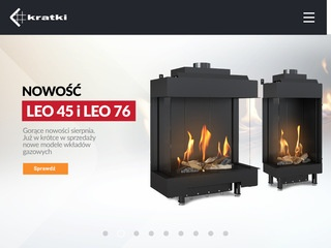 Kratki.com - kominki, piece, akcesoria kominkowe