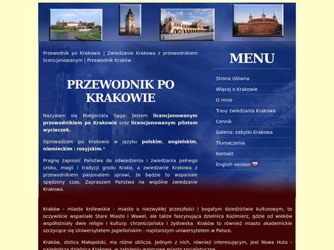 Przewodnik Kraków Cracow Guide Margaret - Przewodnik po Krakowie