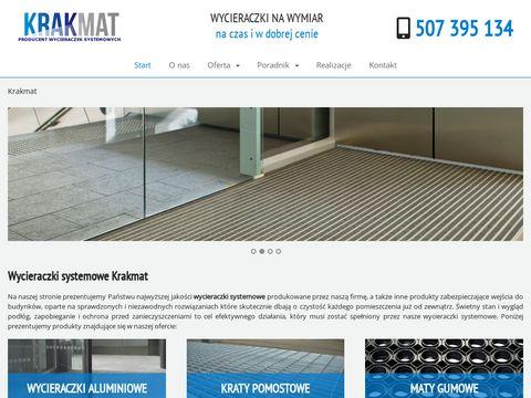 Krakmat.pl wycieraczki przemysłowe