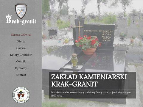Krak-Granit. Kamieniarstwo nagrobki