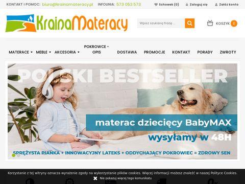 KrainaMateracy.pl Sklep z materacami