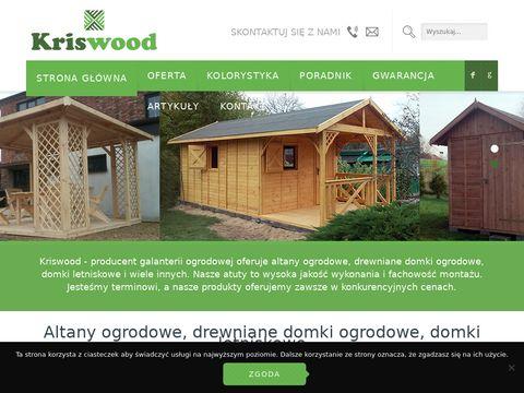 Kriswood.pl praca z drewnem to nasza pasja