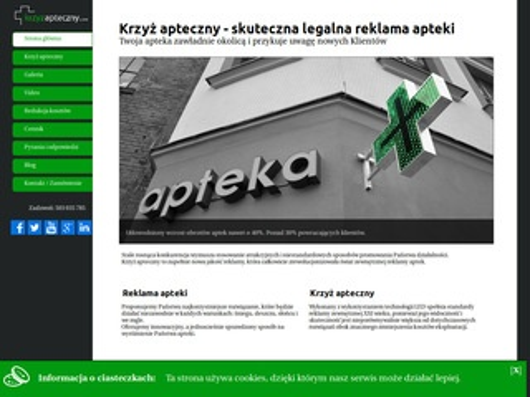 Krzyzapteczny.com Out-line