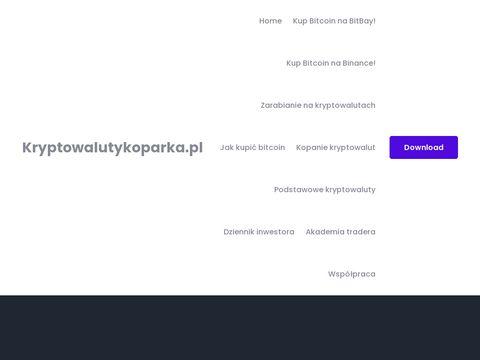 Kryptowalutykoparka.pl bitcoin news
