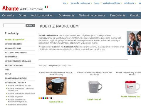 Kubki.veus.pl z nadrukiem