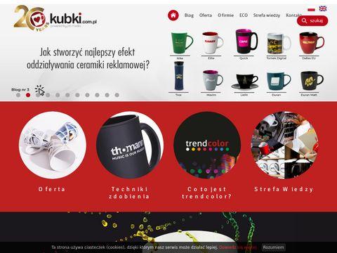 Kubki.com.pl producent ceramiki reklamowej
