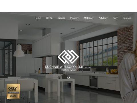 Kuchniewielkopolskie.pl meble na wymiar
