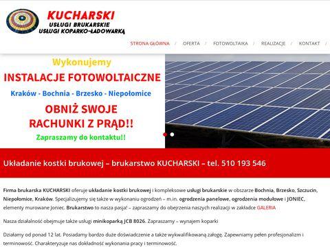 Kucharski-brukarstwo.pl układanie kostki brukowej