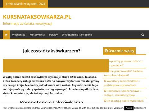 Kursnataksowkarza.pl
