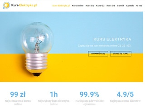 Kurs-elektryka.pl egzamin