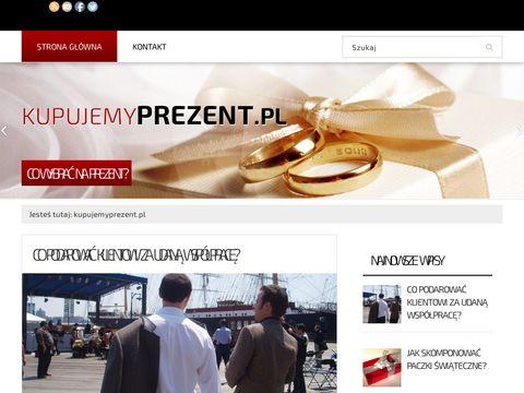 Kupujemyprezent.pl - pomysły