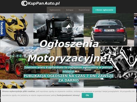 Kuppanauto.pl ogłoszenia motoryzacyjne