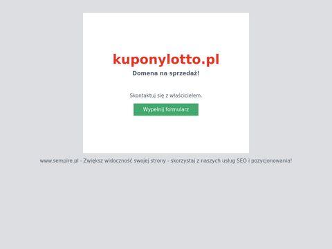 Kuponylotto.pl lotto przez internet