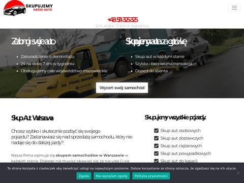 Kupiewszystkieauta.pl skup samochodów Warszawa