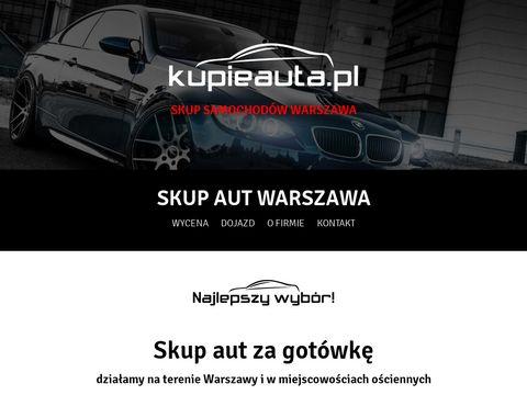 Kupieauta.pl skup samochodów Warszawa