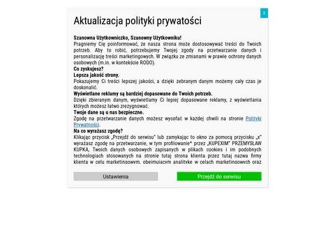 Kupexim.pl - mycie elewacji Poznań